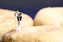 Récréation miniature de peuples photographie stock
