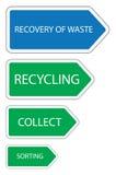Récupération des déchets Photo stock