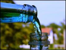 Récupération liquide Photographie stock