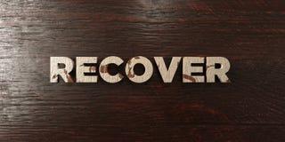 Récupérez - titre en bois sale sur l'érable - l'image courante gratuite de redevance rendue par 3D illustration de vecteur