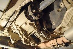 Réducteur de transmission de couple à l'essieu arrière de la voiture Service de véhicule images stock