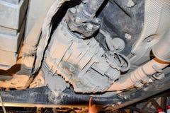 Réducteur de transmission de couple à l'essieu arrière de la voiture Véhicule images stock