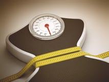 Réduction de la taille et du poids Image libre de droits