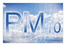 Réduction des particules PM10 dans le ciel - ima de concept Photographie stock libre de droits