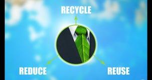 Réduire-Réutilisation-réutilisez l'animation graphique banque de vidéos