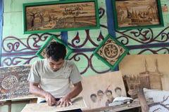 RÉDUISEZ LES DÉCHETS EN INDONÉSIE Photos libres de droits