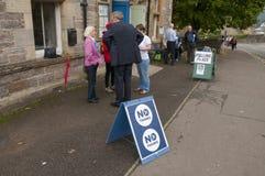 Référendum écossais 2014 de l'indépendance Photo libre de droits