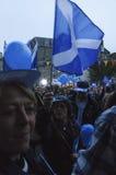 Référendum écossais Perth 2014 de l'indépendance Photos libres de droits
