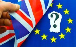 Référendum BRITANNIQUE d'UE de Brexit Images libres de droits