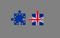 Référendum d'UE dedans Photo stock