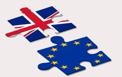 Référendum d'UE dedans Image libre de droits