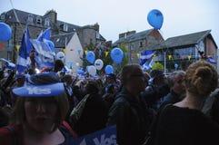 Référendum de l'indépendance de 2014 écossais Photographie stock libre de droits