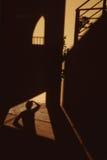 Réfléchir sur des ombres   Photos stock
