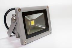 Réflecteur de LED dans la maison en métal Photographie stock libre de droits