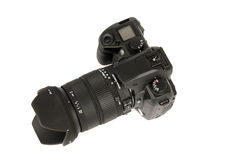 réflexe d'appareil-photo image stock