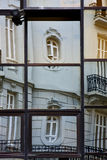 réflexe d'un certain palais dans une maison Image libre de droits