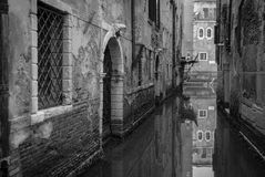Réflexion à Venise Photos libres de droits
