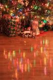Réflexion d'arbre de Noël Image libre de droits