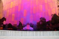 Réflexion d'arc-en-ciel en monument de Seattle Photo libre de droits