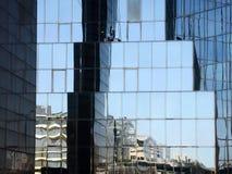 Réflexion d'architecture Images libres de droits