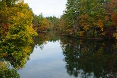 Réflexion d'automne image stock