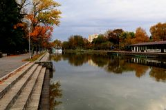 Réflexion d'automnes Photos libres de droits
