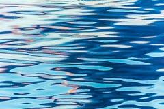 Réflexion dans des ondulations de l'eau Photos stock