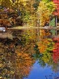 Réflexion dans le lac image stock