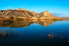 Réflexion dans le lac Images stock