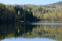 Réflexion dans le lac Photographie stock libre de droits