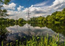 Réflexion dans le lac Farlows Photos libres de droits