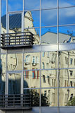 Réflexion de bâtiments Images libres de droits
