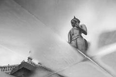 Réflexion de Bouddha Photographie stock