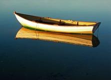 Réflexion de doris de morue de cap Photographie stock libre de droits
