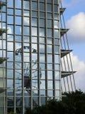 Réflexion de Hong Kong Observation Wheel Photographie stock libre de droits
