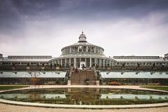 Réflexion de jardins botaniques Photo stock