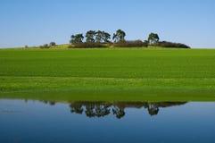 Réflexion de l'eau Images stock