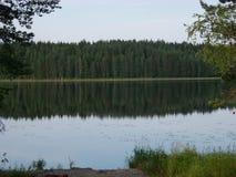 Réflexion de lac Photos libres de droits