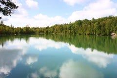 Réflexion de lac crawford Photos libres de droits