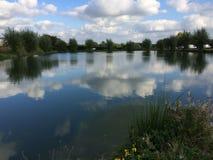 Réflexion de lac summer Photos stock