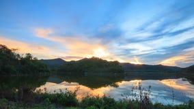 Réflexion de lac viewy Images stock