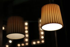 Réflexion de lampe Image stock