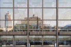 Réflexion de Leipzig photos libres de droits