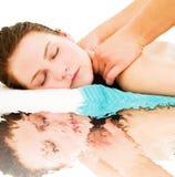 Réflexion de massage Image stock