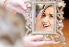 Réflexion de miroir Images stock