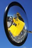 Réflexion de miroir d'aile Images libres de droits