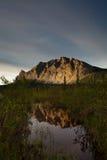 Réflexion de montagne photo libre de droits