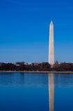 Réflexion de monument de Washington Photos libres de droits