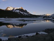 Réflexion de Mt. Dana Image stock