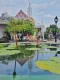 Réflexion de pagoda Photographie stock libre de droits